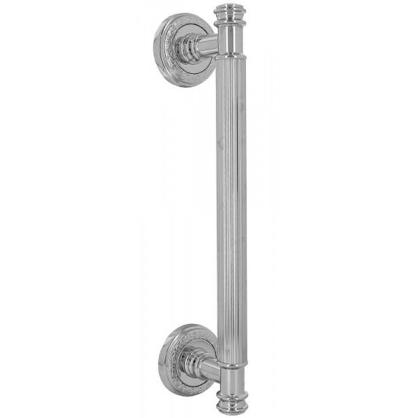 Дверная ручка скоба Extreza Benito S (Бенито) R06 полированный хром F04