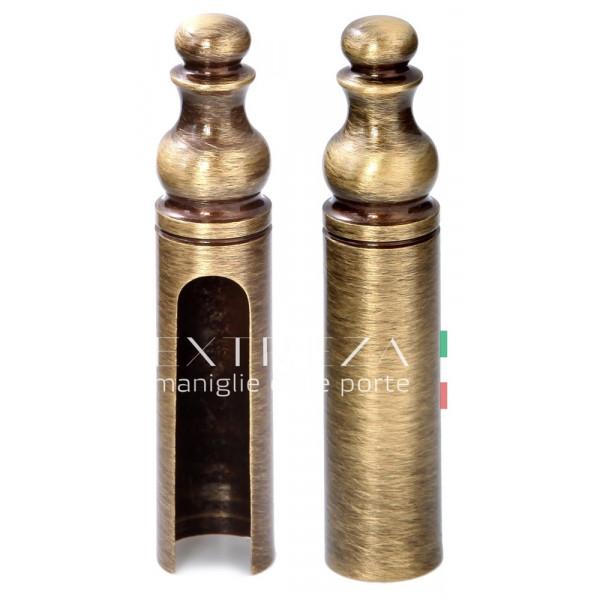 Колпачок декоративный для ввертной петли Extreza 501 D14 матовая бронза F03